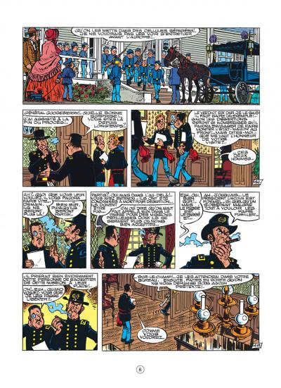 Page 6 les tuniques bleues tome 30 - la rose de bantry