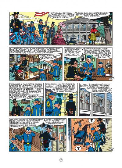 Page 7 les tuniques bleues tome 30 - la rose de bantry