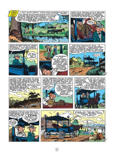 Page 8 les tuniques bleues tome 30 - la rose de bantry