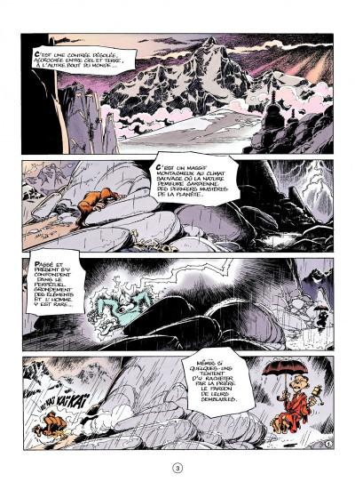 Page 1 spirou et fantasio tome 41 - la vallée des bannis