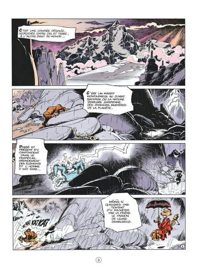Page 3 spirou et fantasio tome 41 - la vallée des bannis