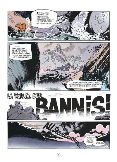 Page 4 spirou et fantasio tome 41 - la vallée des bannis