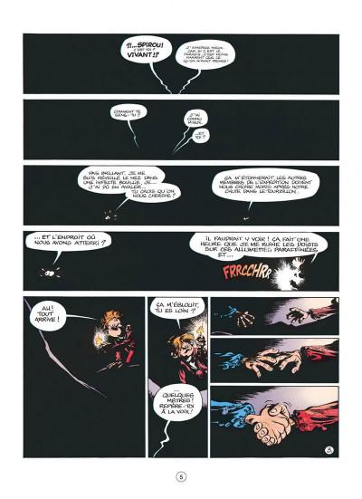Page 5 spirou et fantasio tome 41 - la vallée des bannis