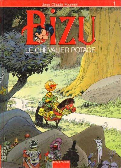 Couverture Bizu tome 1 - le chevalier potage