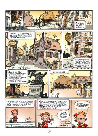 Page 3 le petit spirou tome 1 - dis bonjour à la dame