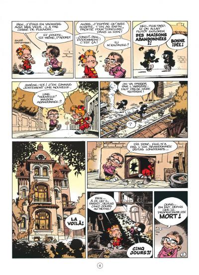 Page 4 le petit spirou tome 1 - dis bonjour à la dame