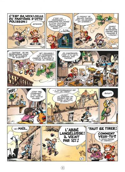 Page 6 le petit spirou tome 1 - dis bonjour à la dame