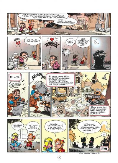 Page 8 le petit spirou tome 1 - dis bonjour à la dame