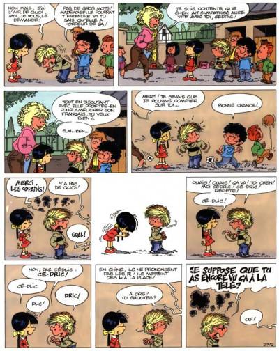 Page 2 cédric tome 3 - classe tous risques