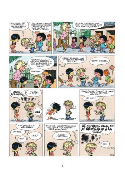 Page 4 cédric tome 3 - classe tous risques