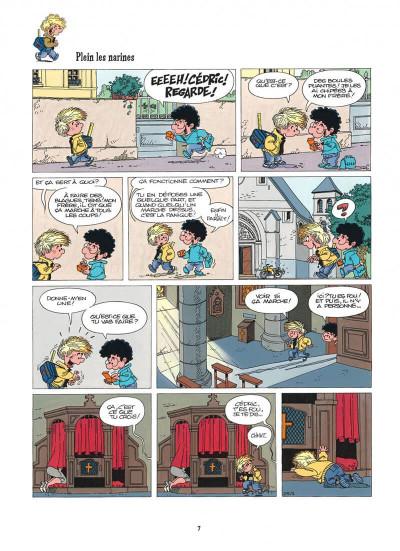 Page 7 cédric tome 3 - classe tous risques