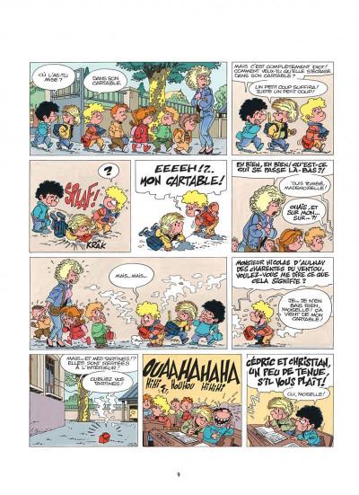 Page 9 cédric tome 3 - classe tous risques