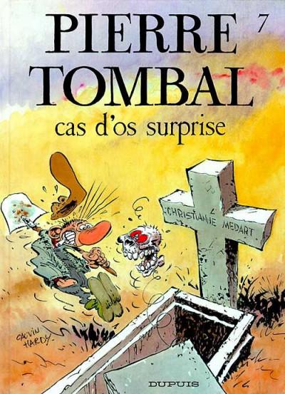 Couverture pierre tombal tome 7 - cas d'os surprise