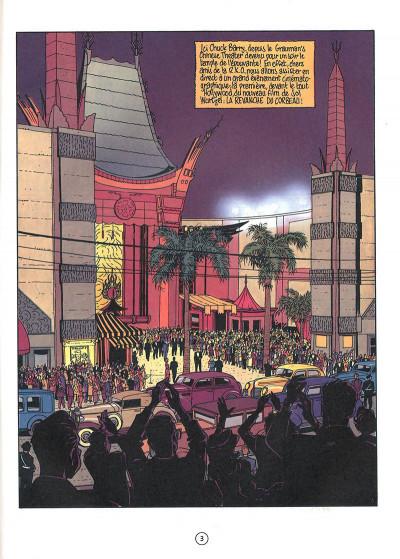 Page 3 Le privé d'Hollywood tome 2 - Amérika