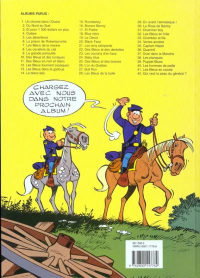 Dos les tuniques bleues tome 31 - drummer boy