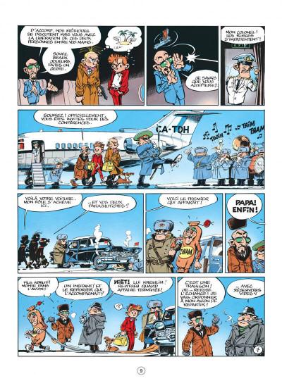 Page 9 spirou et fantasio tome 42 - spirou et fantasio à moscou