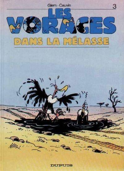 Couverture Voraces tome 3 - dans la mélasse