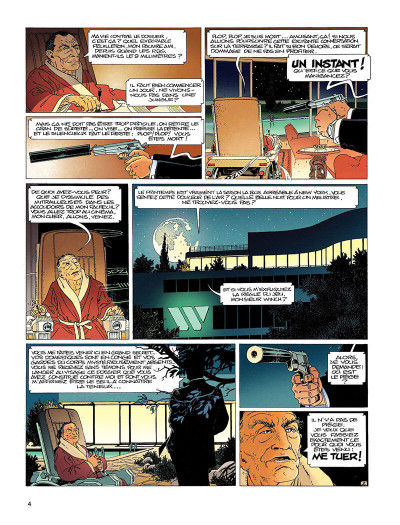 Page 3 largo winch tome 1 - l'héritier