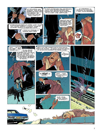 Page 6 largo winch tome 1 - l'héritier