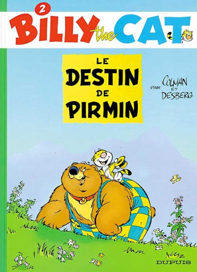 Couverture billy the cat tome 2 - le destin de pirmin
