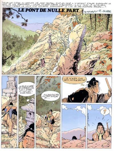 Page 3 kogaratsu tome 1 - le pont de nulle part