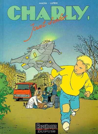 Couverture charly tome 1 - jouet d'enfer