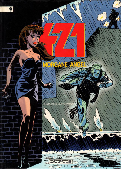 Couverture 421 tome 9 - Morgane Angel