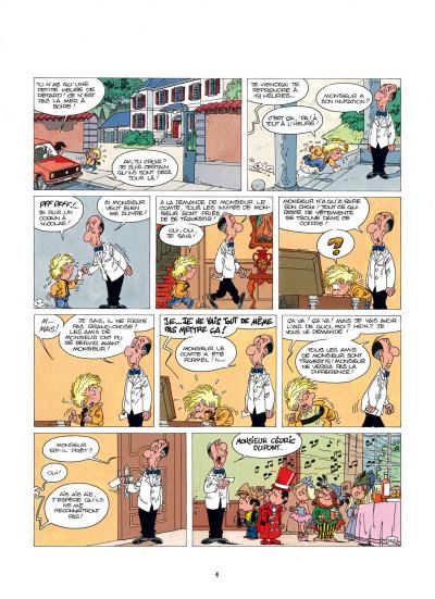 Page 4 cédric tome 4 - papa a de la classe