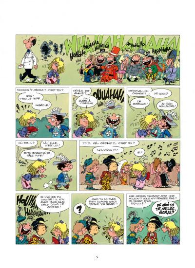 Page 5 cédric tome 4 - papa a de la classe