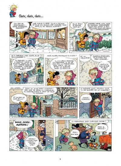 Page 9 cédric tome 4 - papa a de la classe