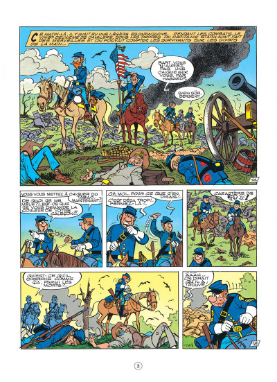 Page 3 les tuniques bleues tome 32 - les bleus en folie