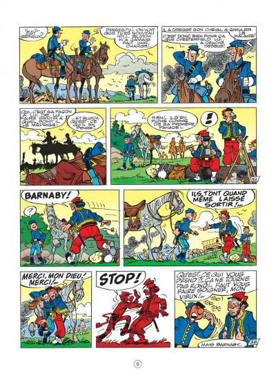 Page 5 les tuniques bleues tome 32 - les bleus en folie