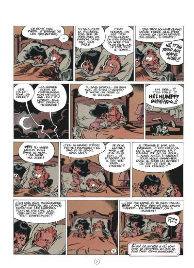 Page 7 le petit spirou tome 2 - tu veux mon doigt