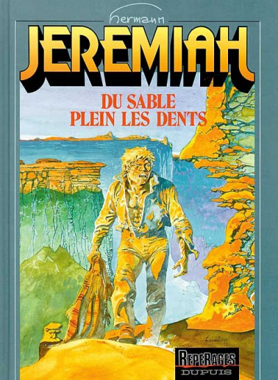 Couverture jeremiah tome 2 - du sable plein les dents