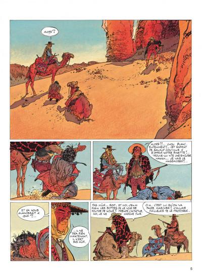 Page 5 jeremiah tome 2 - du sable plein les dents