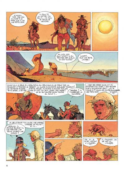 Page 6 jeremiah tome 2 - du sable plein les dents