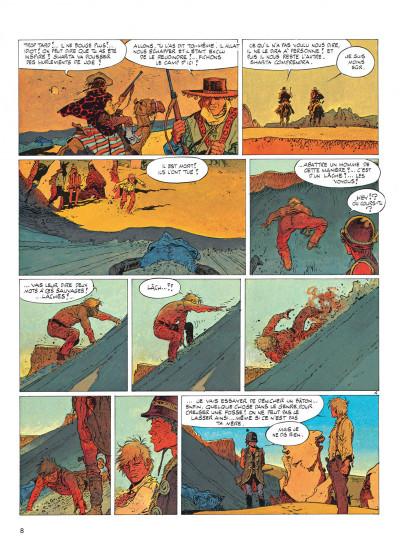 Page 8 jeremiah tome 2 - du sable plein les dents