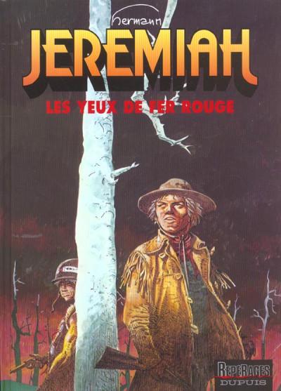 Couverture jeremiah tome 4 - les yeux de fer rouge