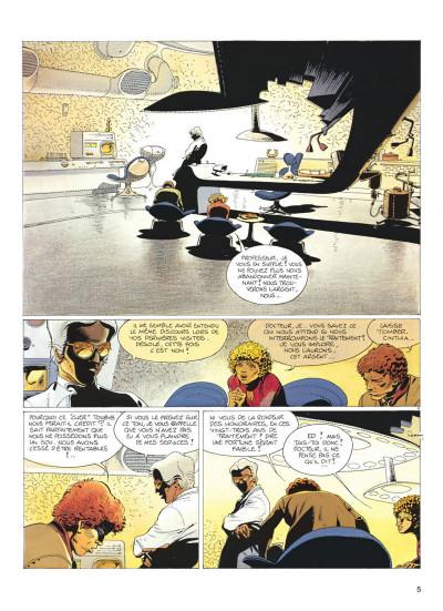 Page 5 jeremiah tome 5 - un cobaye pour l'éternite