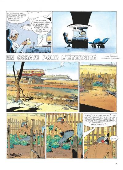 Page 7 jeremiah tome 5 - un cobaye pour l'éternite