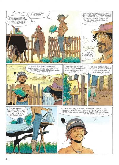 Page 8 jeremiah tome 5 - un cobaye pour l'éternite