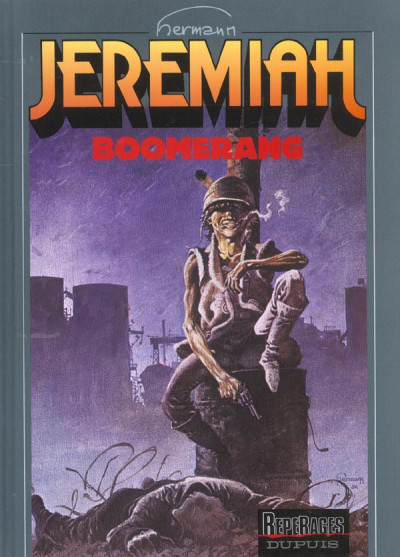 Couverture jeremiah tome 10 - boomerang