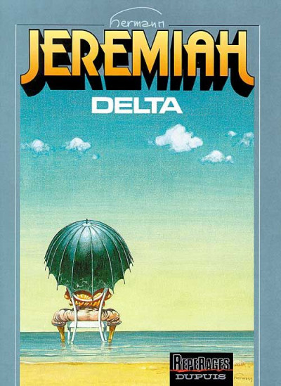 Couverture jeremiah tome 11 - delta