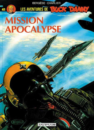 Couverture buck danny tome 41 - mission apocalypse