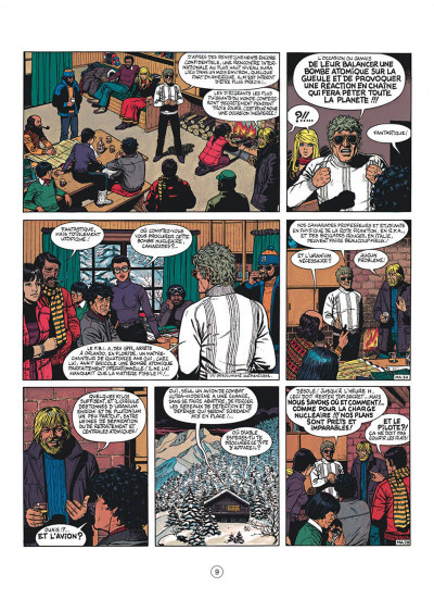 Page 9 buck danny tome 41 - mission apocalypse