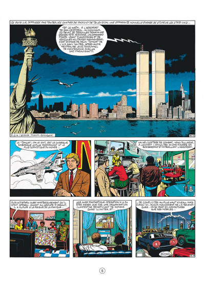 Page 5 buck danny tome 42 - les pilotes de l'enfer