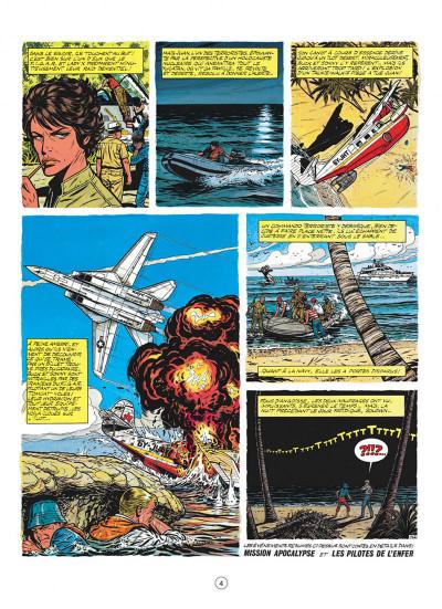 Page 4 buck danny tome 43 - le feu du ciel