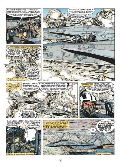Page 4 buck danny tome 44 - les agresseurs
