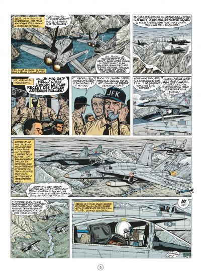Page 5 buck danny tome 44 - les agresseurs