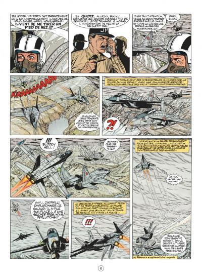 Page 6 buck danny tome 44 - les agresseurs